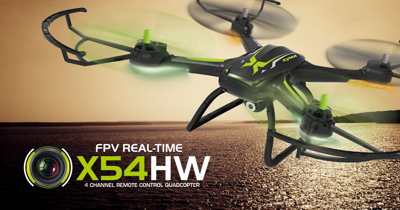 квадрокоптер-syma-X54HW-black