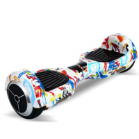 "Гироскутер Smart Balance Wheel 6.5"" APP самобалансир c приложением Граффити"
