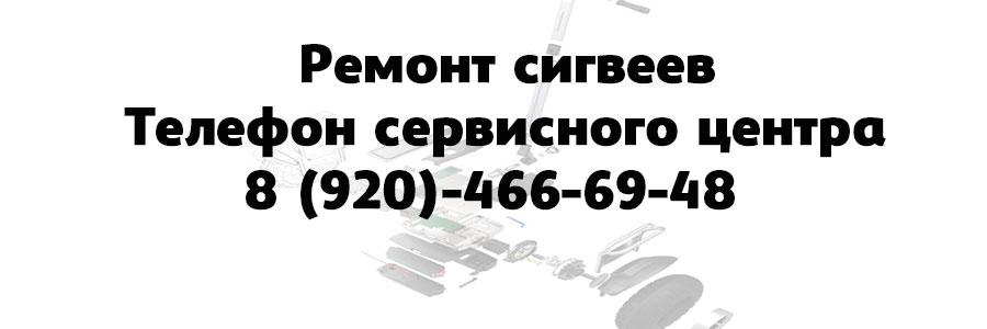 Ремонт сигвеев в Воронеже